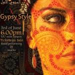 LIU event , Gypsy Style invitation
